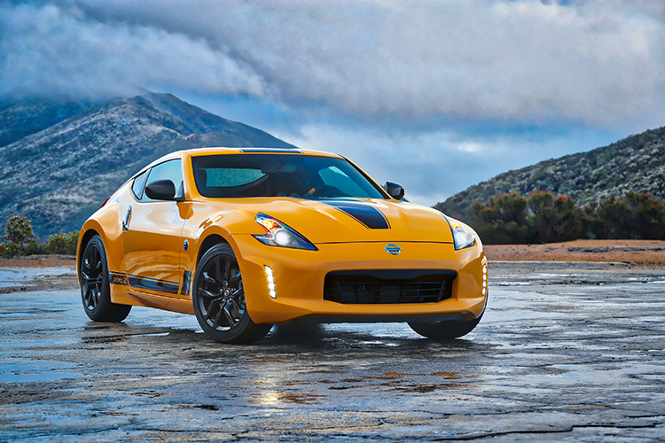 2018 Nissan 370z Heritage Edition Previewed At New York