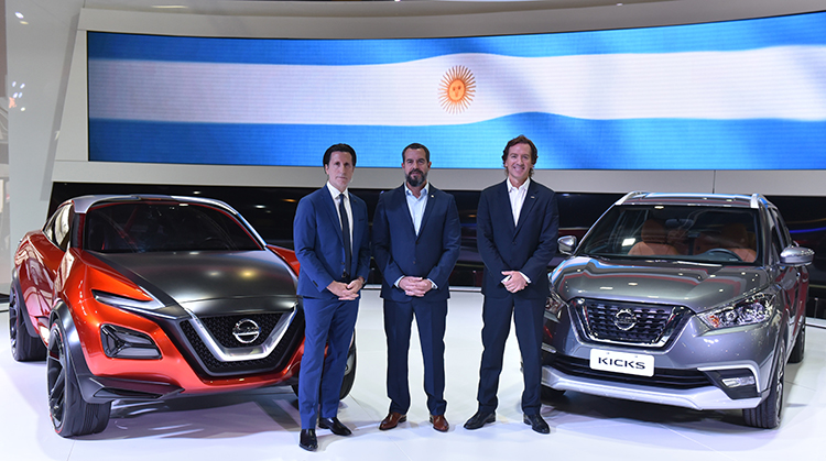 nissan impresses at buenos aires auto show with three concept cars