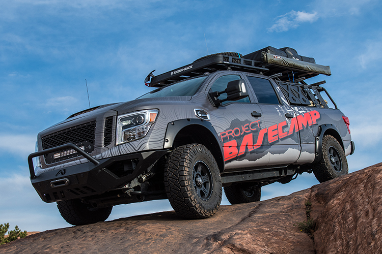 Nissan Titan Xd Pro 4x Project Basecamp Debuts At Overland Expo