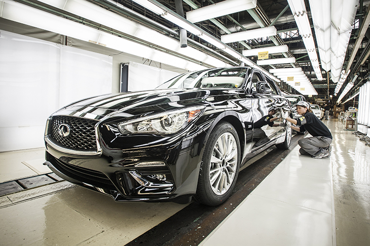 2018 infiniti sedan. contemporary 2018 tochigi japan u2013 infiniti has begun production of the 2018 q50  with first vehicles manufactured at companyu0027s facility in tochigi japan to infiniti sedan