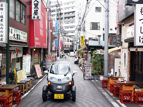 new car launches in japanCar sharing service featuring Nissans ultracompact electric