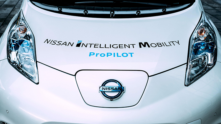 Nissan shares vision of autonomous vehicles with lawmakers in the ...