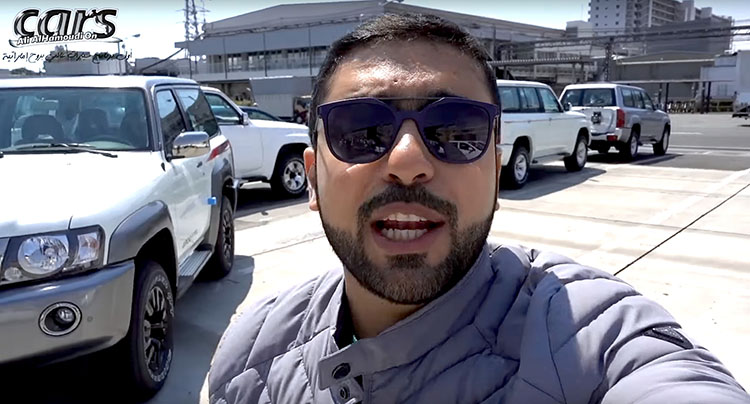 Nissan enthusiast from the Middle East visits Patrol Super Safari